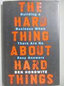 【書寶二手書T8/投資_YGK】The Hard Thing About Hard Things-Building a