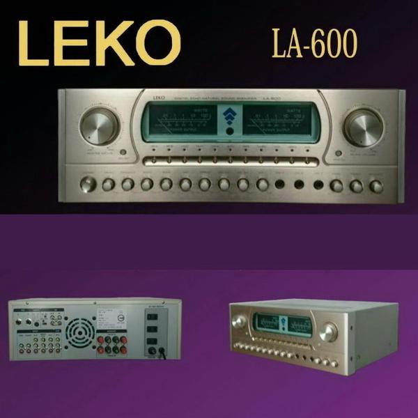 台灣製造 LEKO LA-600 卡拉OK營業級混音擴大機 全新品