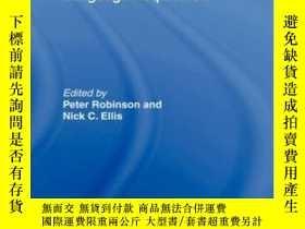 二手書博民逛書店Handbook罕見Of Cognitive Linguistics And Second Language Ac
