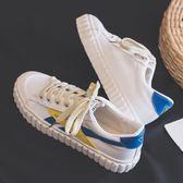 YAHOO618◮2019冬季新款帆布鞋女韓版百搭學生原宿ulzzang休閒布鞋小白板鞋 韓趣優品☌