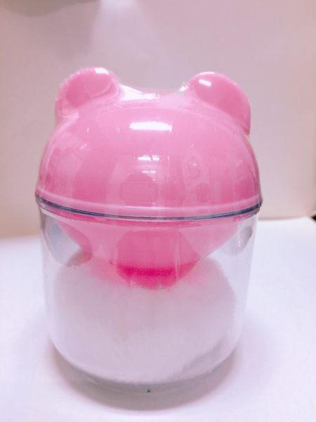 俏比   自動粉撲盒 (兩色可選)  ---  嬰兒粉撲
