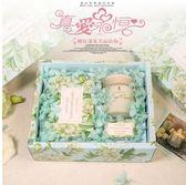 蠟燭香薰-ins伴手禮生日禮盒新娘回禮香薰蠟燭禮盒玻璃杯香氛蠟燭進口 夢娜麗莎