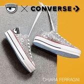 Converse X Chiara Ferragani 聯名系列 眨眨大眼睛刺繡標誌 NO.563833C