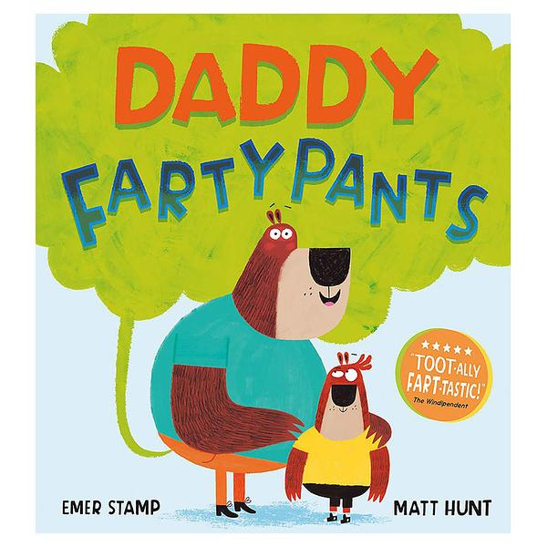 麥克書店Daddy Fartypants父親節親情英文圖畫童書
