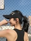 戶外運動跑步太陽帽女夏百搭防曬遮陽帽防紫外線空頂鴨舌棒球帽子 全館鉅惠