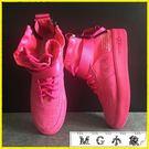 中筒靴-高幫馬丁靴透氣厚底嘻哈鞋子