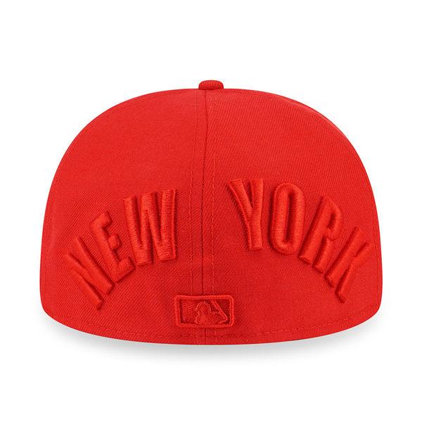 NEW ERA 59FIFTY 5950 NEW YORK YANKEES TONAL 洋基 紅