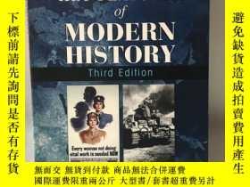 二手書博民逛書店KEY罕見FEATURES OF MODERN HISTORY