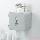 衛生紙架廁所廁紙壁掛式免打孔置物架洗手間防水衛生紙捲紙筒