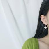 個性 寶石 鑲鑽 鍊條 珍珠 個性 耳環【DD1908061】 ENTER  10/03