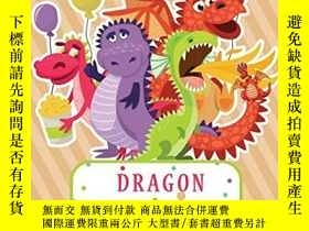 二手書博民逛書店Dragon罕見Coloring Books For Kids 9-12: A Fun Kid for Great