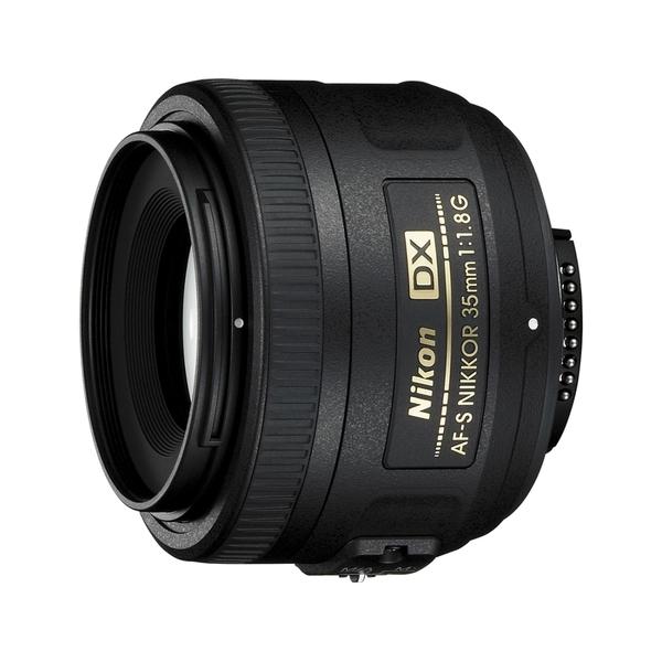 【聖影數位】Nikon AF-S 35mm F1.8G DX專用定焦鏡頭 公司貨 (3期零利率)