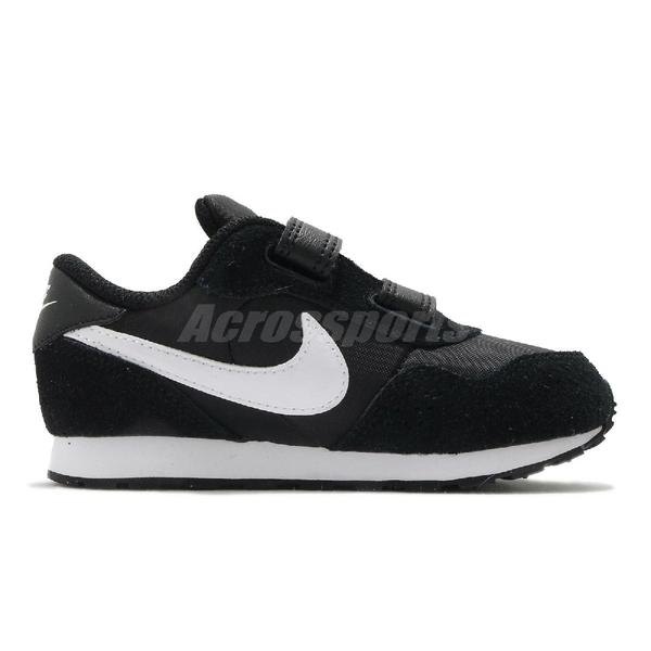 Nike 休閒鞋 MD Valiant TDV 黑 白 童鞋 小童鞋 魔鬼氈 小朋友 【ACS】 CN8560-002
