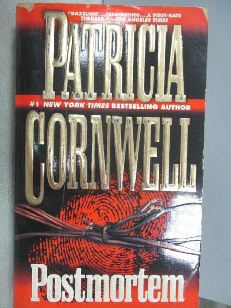 【書寶二手書T8/原文小說_CQK】Postmortem_Patricia Cornwell