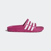 ADIDAS Duramo Slide K [G06797] 大童鞋 運動 涼鞋 拖鞋 休閒 舒適 輕量 桃紅 愛迪達