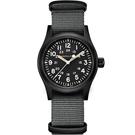 Hamilton漢米爾頓卡其野戰系列軍事機械腕錶 H69409930