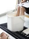泡腳桶 過小腿泡腳盆家用塑料加高足療洗腳足浴桶過膝蓋養生高深桶【快速出貨八折下殺】