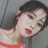 眼鏡框眼鏡框網紅款素顏神器護目鏡可配圓形金絲邊小框眼鏡架女小臉  HOME 新品