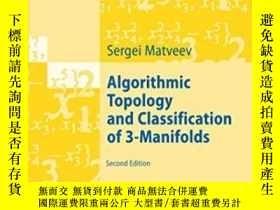 二手書博民逛書店Algorithmic罕見Topology And Classification Of 3-manifolds