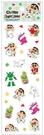 蠟筆小新 可愛小貼紙 綠 CS04481A