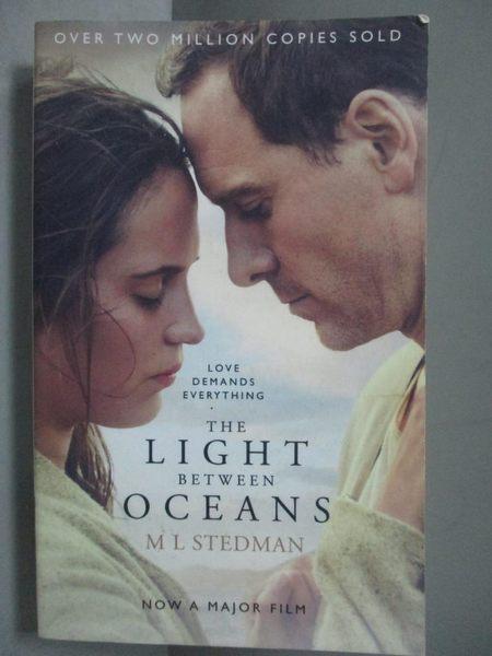 【書寶二手書T6/原文小說_NJT】The Light Between Oceans. Film Tie-In_M L
