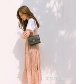 小包包女士上潮百搭單肩手提包鏈條包高級感洋氣 艾莎