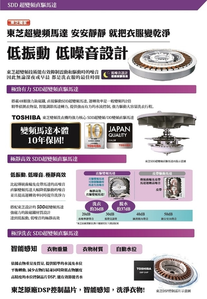 TOSHIBA東芝 17公斤 鍍膜奈米泡泡雙渦輪洗衣機 AW-DMUH17WAG *免運費*
