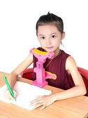 坐姿矯正器 兒童視力保護器小學生用防坐姿矯正器糾正寫字姿勢儀架預防護眼矯正 艾莎