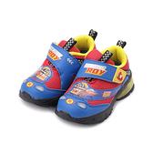 救援小英雄 ROY 羅伊頭燈運動鞋 藍紅 POKX10302 中童鞋