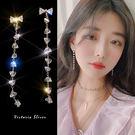 925純銀針  韓國優雅氣質 光彩亮麗耳環-維多利亞190628