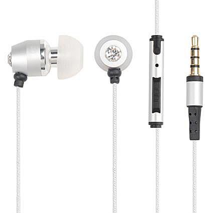 【免運費】水晶 氣密式耳機---可通話功能
