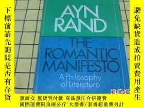 二手書博民逛書店THE罕見ROMANTIC MANIFESTO:A Philos
