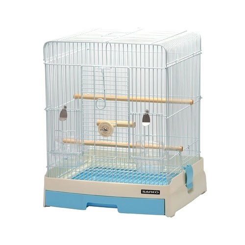 [ 家事達 ]  日本 SSANKO #827  舒適精緻 鳥籠  特價