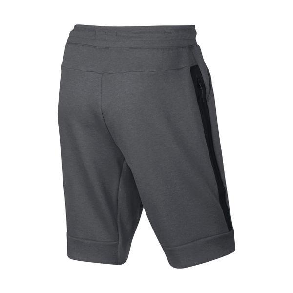 Nike Sportswear Tech Fleece 男裝 灰色 短褲 棉質 大拉鍊 (布魯克林) 2016/8月 805161-091