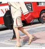 果凍包凱莉包包女新款鉑金包斜背包紅色新娘包迷你女包小 〖滿千折百〗