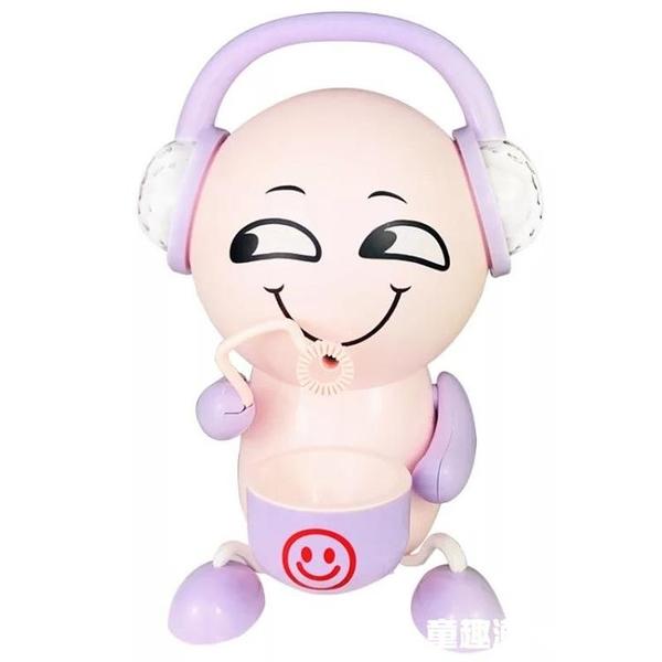 網紅同款表情包泡泡機兒童全自動電動音樂抖音泡泡機玩具男孩女孩 童趣