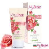 保加利亞My rose玫瑰保濕亮澤面霜50ml