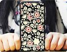 ✿ 3C膜露露 ✿ {紅黑花花*黑邊輕立體浮雕軟殼} ASUS 華碩 Zenfone 6手機殼 手機套 保護套 保護殼