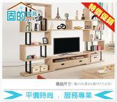 《固的家具GOOD》29-4-AP 艾爾莎10尺組合電視櫃