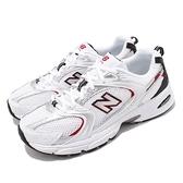 New Balance 休閒鞋 530 白 銀 紅 復古慢跑鞋 老爹鞋 男鞋 女鞋 【ACS】 MR530SAD