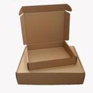 【GD128】三層飛機紙盒T3號270x165x50mm飛機盒 牛皮紙箱 包裝盒 紙盒 瓦楞紙箱 披薩盒 EZGO商城
