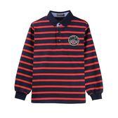 『小鱷魚童裝』英國風條紋POLO衫(02號~06號)532102