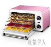 220V 9L家用食品烘干機水果蔬菜肉類小型干果機寵物食脫水風干機 aj7396『紅袖伊人』