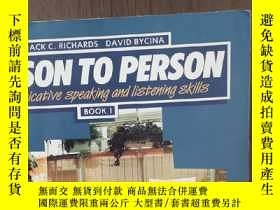 二手書博民逛書店Person罕見to Person: Communicative