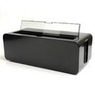 日本製【Inomata】6P電線收納盒 Black /4832