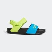 Adidas Adilette Sandal 拖鞋-05 [FY8850] 中童鞋 運動 休閒 涼鞋 愛迪達 黑 綠藍