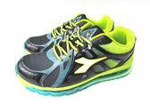 『雙惠鞋櫃』◆DIADORA迪亞多那 ◆ 抗菌防臭鞋墊 抗壓  男款大童氣墊運動慢跑鞋◆ (DA2680) 黑綠