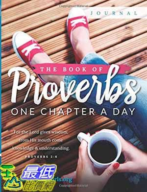 [104美國直購] 2015 美國暢銷書排行榜 The Book of Proverbs Journal: One Chapter a Day Paperback