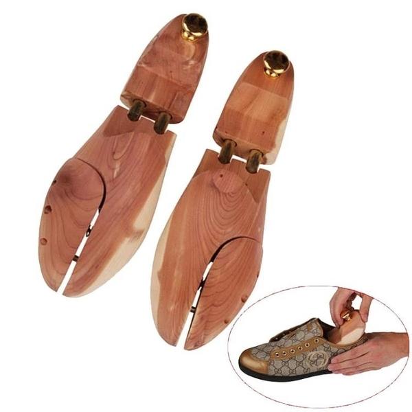 撐鞋器錦榮香木整楦鞋楦可調節鞋撐定型鞋子