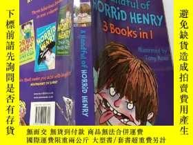 二手書博民逛書店a罕見handful of horrid henry, 一群可怕的亨利:Y200392